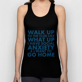 "Request-""What Up"" Unisex Tank Top"