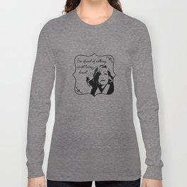 Don't bore Greta Garbo! Long Sleeve T-shirt