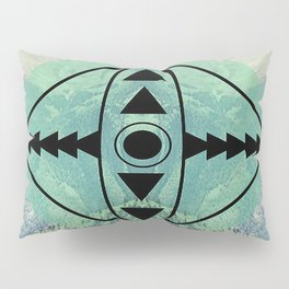 Mountians and Print Pillow Sham