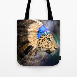 Fight For What You Love (Chief of Dreams: Leopard) Tribe Series Tote Bag