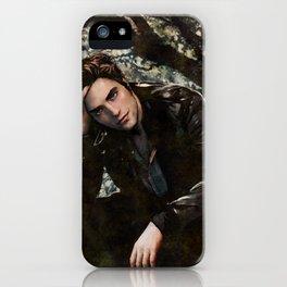 Robert Pattinson FAME comic book cover - Twilight iPhone Case