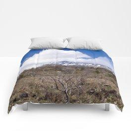 Sicilian Volcano ETNA Comforters