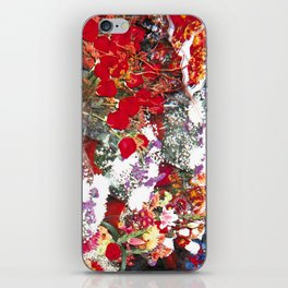 Bodega Flowers iPhone Skin