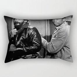 Sidney Poitier KBE - Bahamian-American Actor Film Director Shop Society6 Online BLM COSBY Rectangular Pillow