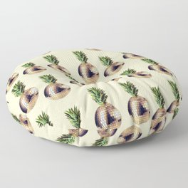 ananas party (pineapple) Floor Pillow