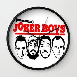 Joker Boys Wall Clock