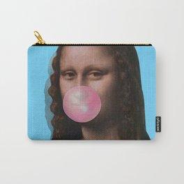 Mona Lisa (Leonardo da Vinci) with Bubblegum Carry-All Pouch