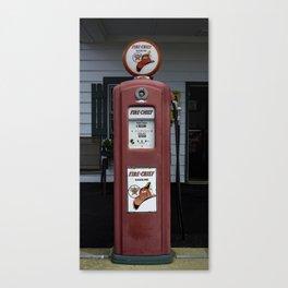 Fire Chief Gas Pump Canvas Print