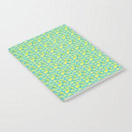 Lemoncello Teal Notebook