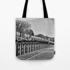 Gasoline Alley, Isle of Man Tote Bag