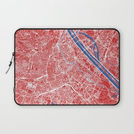Vienna, Austria street map Laptop Sleeve
