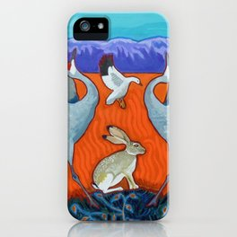 I Heart the Bosque iPhone Case