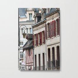 Windows in Dijon Metal Print