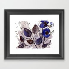 Floral 22 Framed Art Print