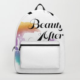 Beauty After Bruises (Black) Backpack