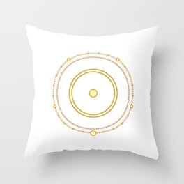 Circle of the Seraph Throw Pillow