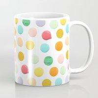confetti Mugs featuring Confetti by Catalina Montaña