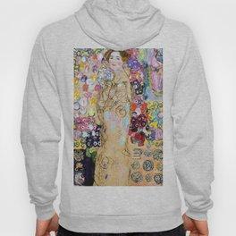 "Gustav Klimt ""Portrait of Maria Munk (unfinished)"" Hoody"