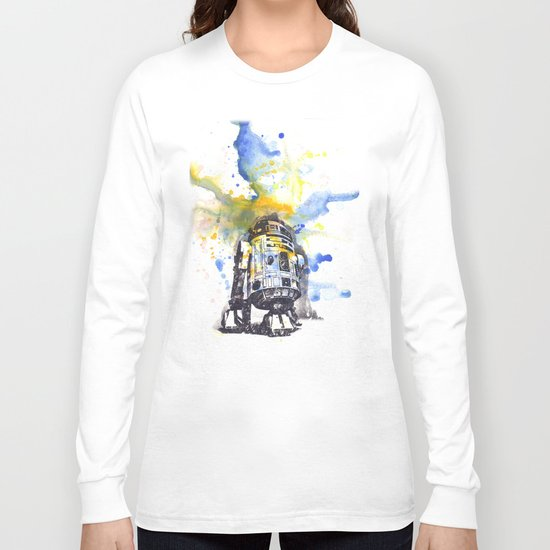 R2D2 from Star Wars Long Sleeve T-shirt