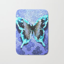 Butterfly Glow Bath Mat