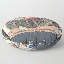 Bobtail Cat Floor Pillow