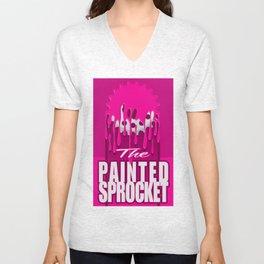 The Painted Sprocket Unisex V-Neck