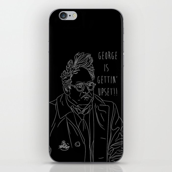 George is Gettin' Upset! iPhone Skin