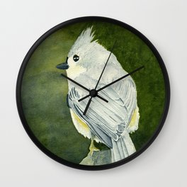 On Top of the World–Song Bird Wall Clock