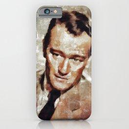 John Wayne, Hollywood Legend iPhone Case
