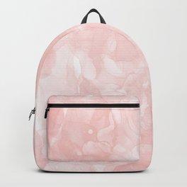 Blush Pink Smoke Abstract Backpack