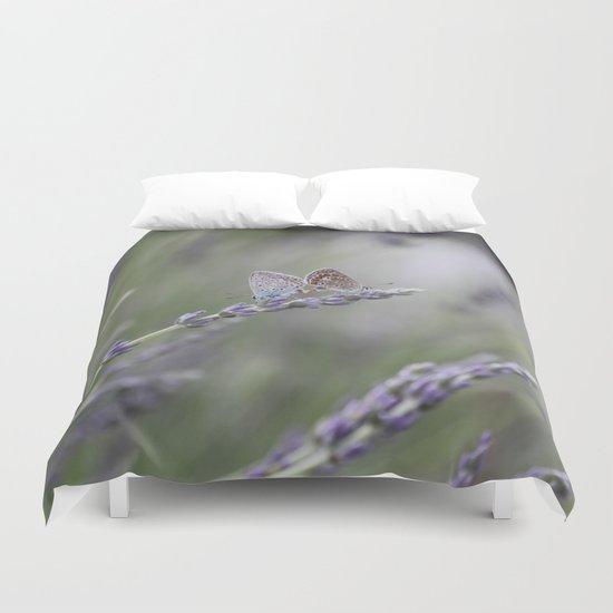 Lavender Butterflies - JUSTART © Duvet Cover