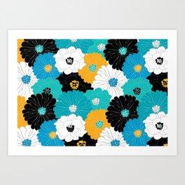 color flower Art Print