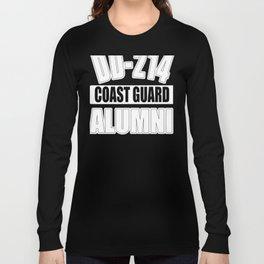 US Coast Guard Gift - USCG Image for Veteran Men or Women Long Sleeve T-shirt