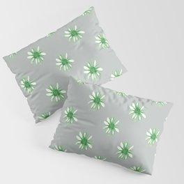 Daisies in Green Pillow Sham