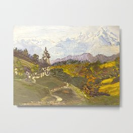 Alpine Autumn Metal Print