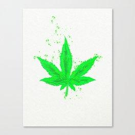 Legalize It Canvas Print