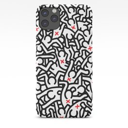 Keith Haring Variation #33 iPhone Case