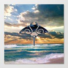 Florida Stingray Canvas Print