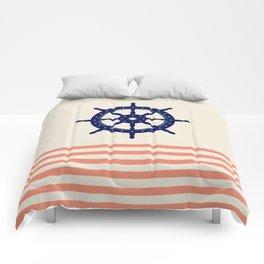 AFE Navy Helm Wheel Comforters