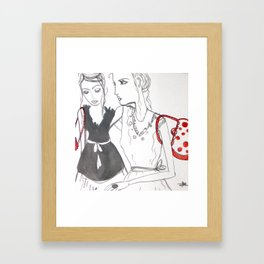 Party time over.  Framed Art Print