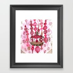 Feria de las Flores Part Deux Framed Art Print
