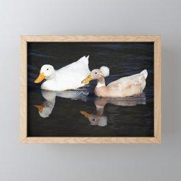 The Odd Couple Framed Mini Art Print