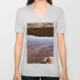 Canyonlands Arch Unisex V-Neck