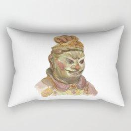 Buddhist statue Rectangular Pillow