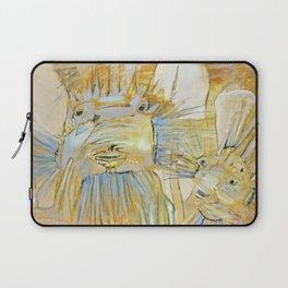 Boxfish in Yellow Laptop Sleeve
