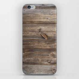 Wood texture - wooden background 2 iPhone Skin