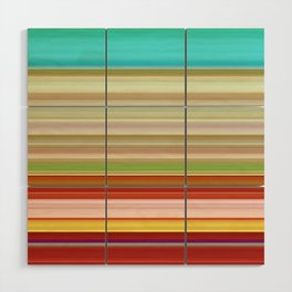 Stripes II Wood Wall Art