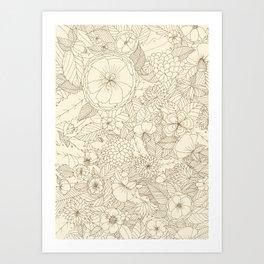 memory Art Print