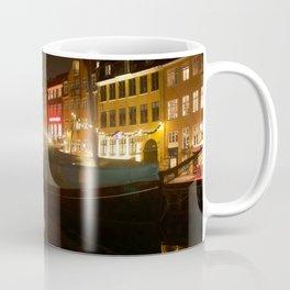 Nyhavn at night Coffee Mug