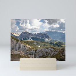 Picture of the Seceda II | A journey through the Dolomites, Italy Mini Art Print
